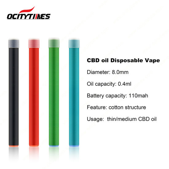 Ocitytimes Pure Vape Taste 0 4ml Single Use 200 Puffs E Cig
