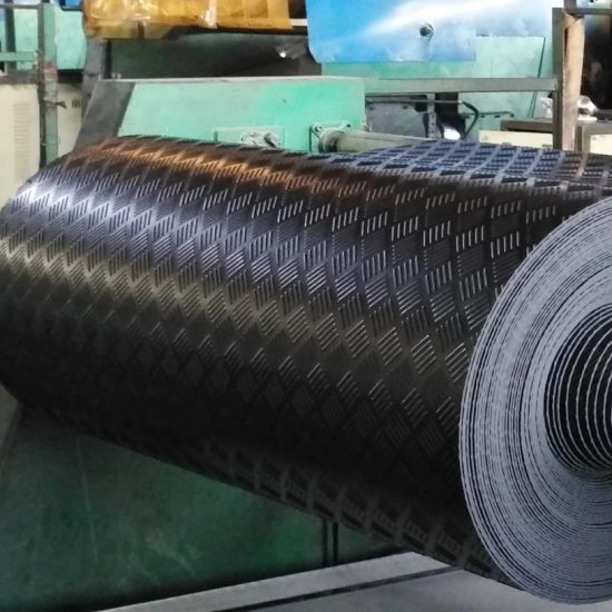 Fine Rib Insulation Rubber Sheet Roll