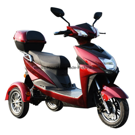 3 Wheel 500W Tricycle Adult Electric Mobility Scooter Motorcycle pictures & photos