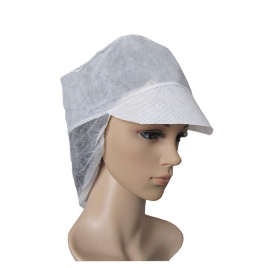 Disposable Nonwoven PP Worker Snood Cap