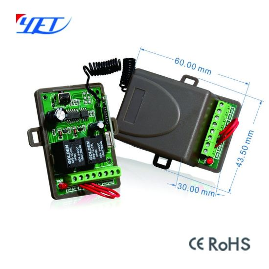 RF Wireless Remote Control Relay Output Switch Receiver with Limit Switch