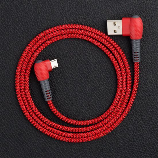 Hot Selling Armor Elbow Line New Designs Fast Charging Cell Phone USB Data Cables pictures & photos