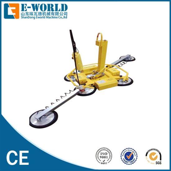 6 Suckers Electricity Glass Vacuum Lifter Machine 600kg Vt600
