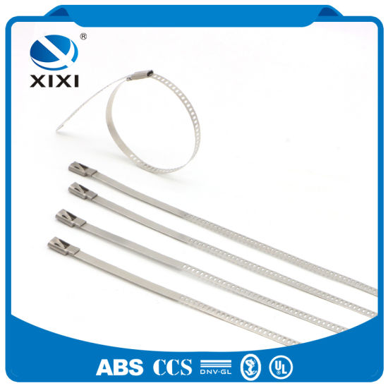 316 Metal Uncoated Stainless Steel Cable Ties Manufacturer