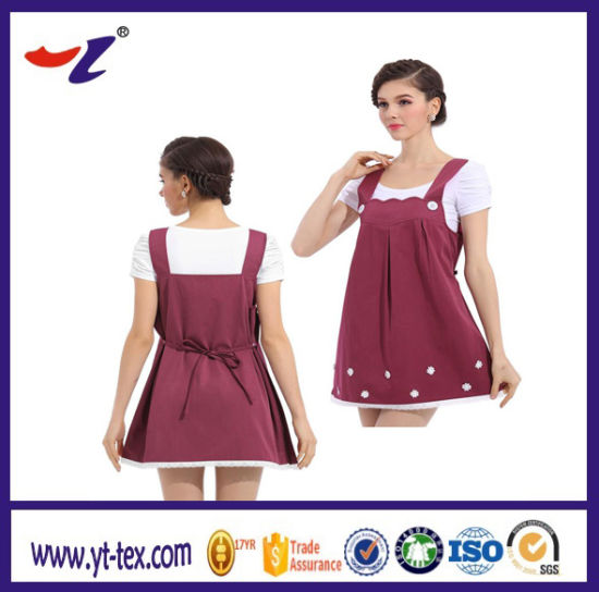 e2baa2a0a6a17 China OEM Electromagnetic Shielding Clothing for Maternity Dress ...