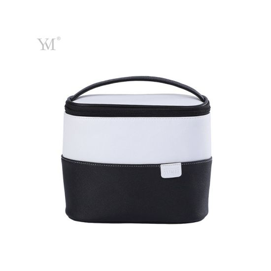 Travel Bucket Toiletry Storage Cosmetic Bag with Handle