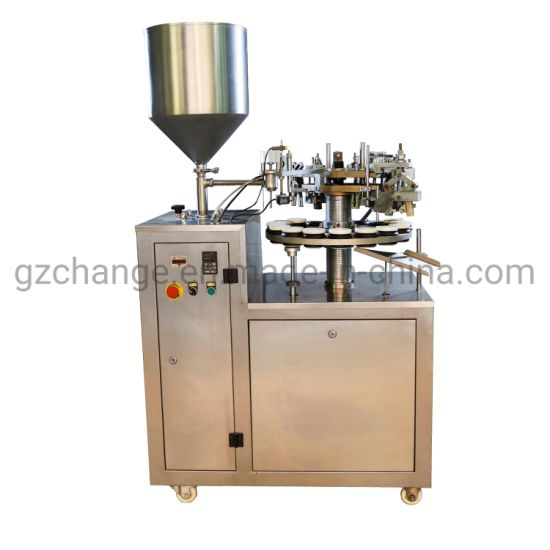Chinese Factory Supplier Aluminium Tube Fill and Seal Machine