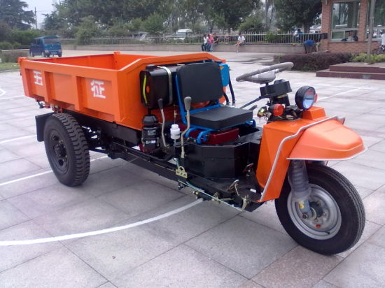 3 Wheel Dump Truck for Mining and Construction Sites (WK3B2622103)