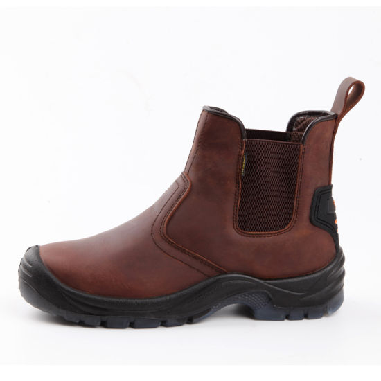 Carzy Horse Leather S3 Standard Safety Shoes