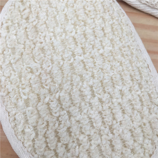 Microfiber Material Washing Pad for Shower 7008