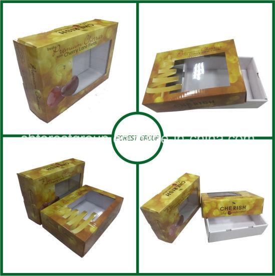 Custom Box Packaging Window for Fruit Packaging (FP0200017)