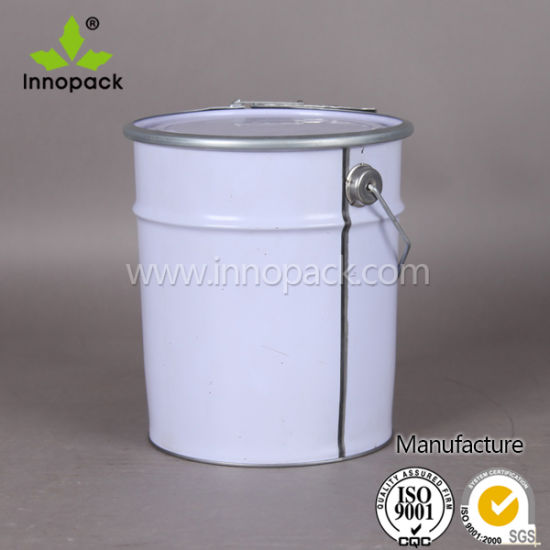 China 1 2 Gallon Steel Pails Paint Industrial Oil Metal Bucket