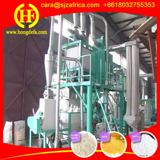 Maize Flour Milling Machine for Africa Market pictures & photos