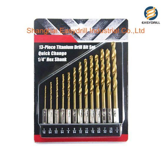 9mm 2 piece SET SHIPS FROM USA Jobbers Twist Drill bits High speed steel hss hs