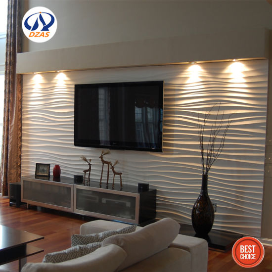 Luxury Design Decoration White Classic Square Wall Planks 3d Wall Panels China 3d Effect Wall Panels 3d Wall Panels Made In China Com