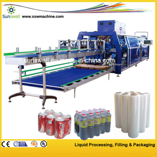 Fully Automatic Film Heat Shrink Packaging Machine for Water Bottle pictures & photos