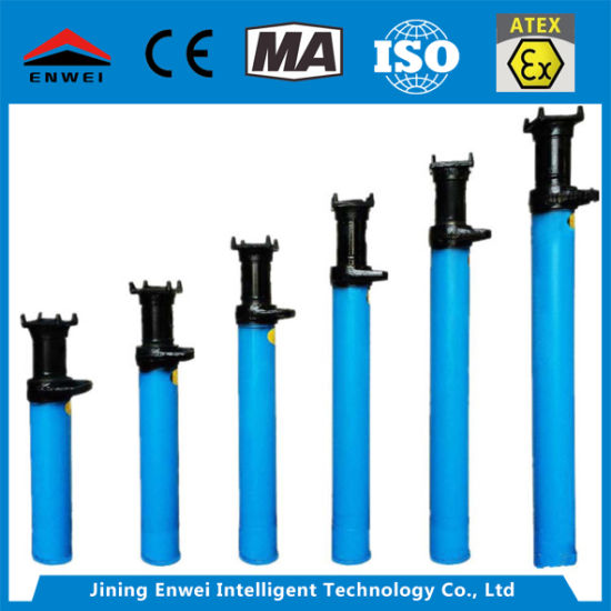 Dn28 Steel Single Hydraulic Acrow Prop Jack for Coal Mining
