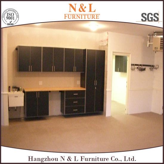 N L High Quality Storage Wooden Garage Cabinet