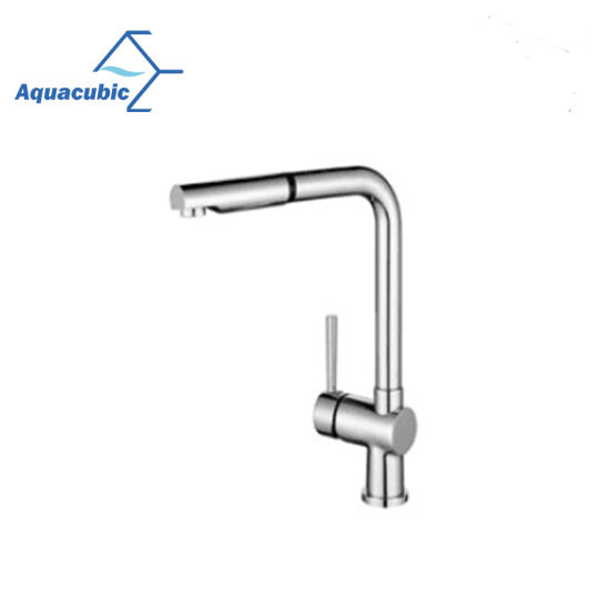 China Aquacubic New Style Cupc Certified Lead Free Single Hole Brass Kitchen Mixer Faucet Af8860 5 China Faucet Cupc Kitchen Faucet