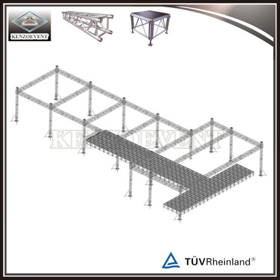 China Customized Design Fashion Show Stage With Lighting Truss System China Fashion Show Stage Stage Equipment