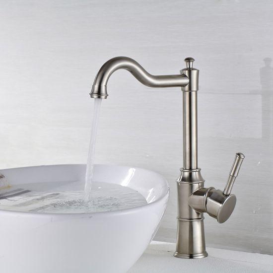 304 Stainless Steel Basin Faucet Coldu0026Hot Bathroom Faucet