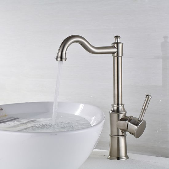 Flg 304 Stainless Steel Basin Faucet Cold&Hot Bathroom Faucet