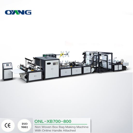 Automatic PP Non Woven Bag Making Machine with Ultrasonic Sealing System