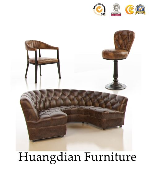China Chesterfield Half Circle Leather