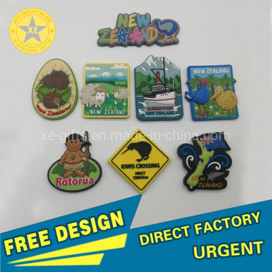 Gifts Custom High Quality Promotional Soft PVC 3D Animal Refrigerator Rubber Fridge Magnet Colorful PVC pictures & photos