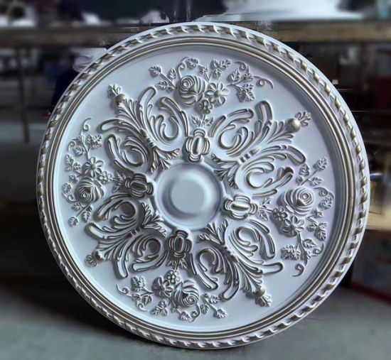 Polyurethane Ceiling Medallion Lighting