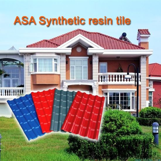 China Cheap Asa Upvc Roof Tiles In Pakistan For Prefab Houses Sunshed