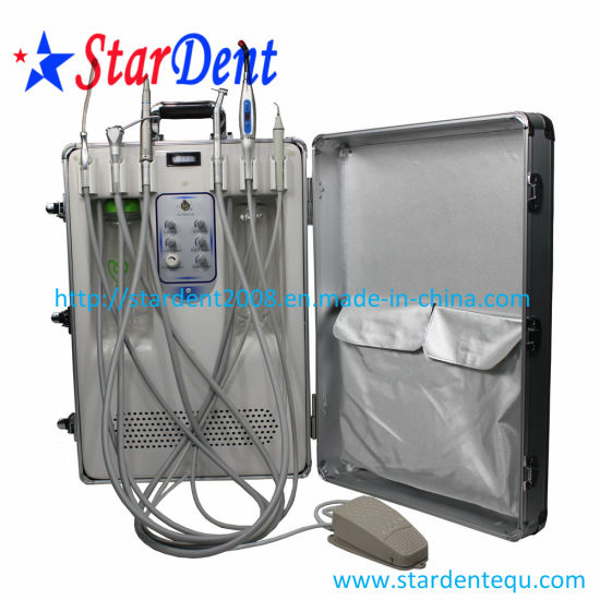 Portable Dental Unit with Built in Curing Light and Scaler pictures & photos