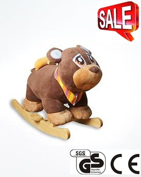 Hot Sale Animal Design Baby Rocking Horse Rocking Chair Ca-Ra06 pictures & photos