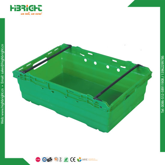 Plastic Stackable Crate Fruit Crate Bin for Farms pictures & photos