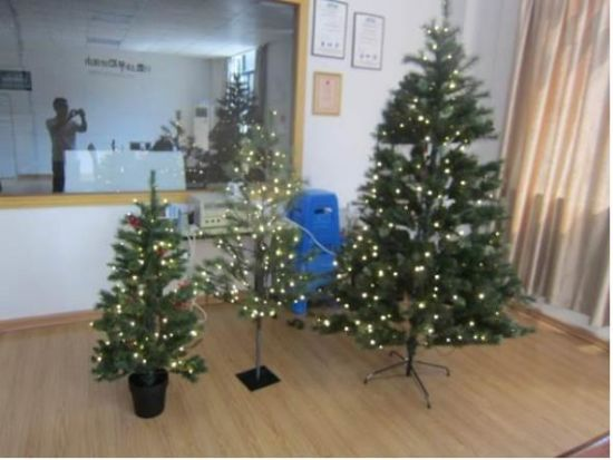 Christmas Trees with LED Light Onsite Inspection pictures & photos