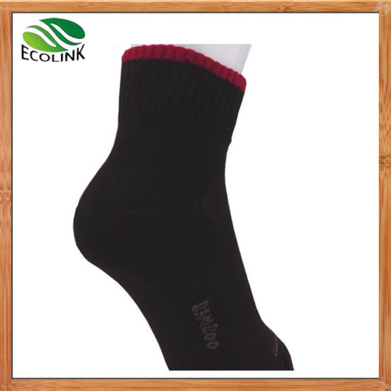 Cheap Hight Quality Bamboo Fibre Men′s Sock for Business pictures & photos