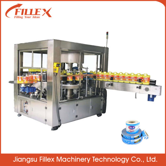 Water Bottle Carbonated OPP BOPP Beverage Filling Machine with Excellent Quality