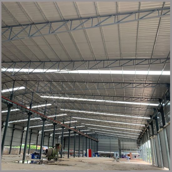 Prefab Industrial Steel Structure Shed Light Weight Metal Building pictures & photos