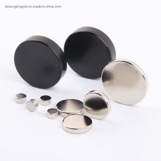 Super Strong N52 Ni Coating Powerful Neodymium Disc Magnets