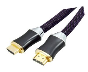 Hi-Speed HDMI Plug to HDMI Plug Cable AV Cable pictures & photos