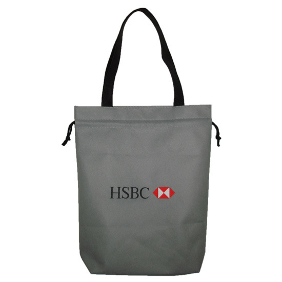 Advertising and Promotion Nonwoven Drawstring Gift Bag with Your Logo Printing pictures & photos