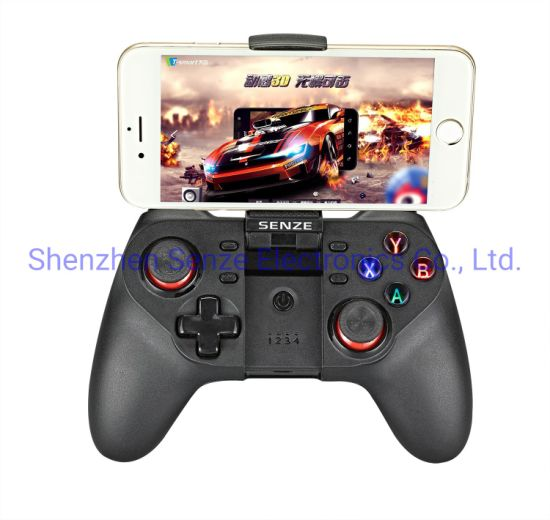Senze Sz-A1019 Android Game Controller Smart Phone Gamepad Ios Game Joystick TV Box for Phone