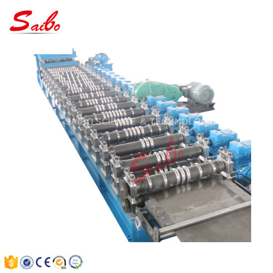 Steel Grain Silo Corrugated Profile Roofing Sheet Roll Forming Machine
