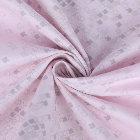 Classic Pearl Powder Printing Polyester Fabric for Bedding Sheet