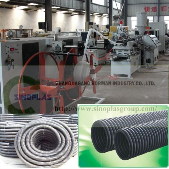 PE Corrugated Pipe Line pictures & photos