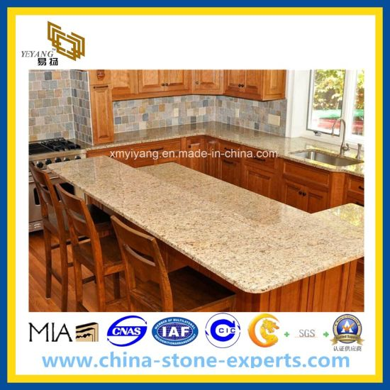 Granite/Marble/Quartz Stone Vanity Top and Kitchen Countertop (G682/G640/G664/G603/G654) pictures & photos