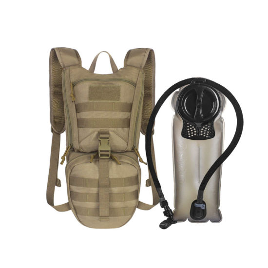 Tactical Hydration Sport Backpack with 2.5L Water Bladder, Thermal Insulation Pack Keeps Liquid Cool for Hiking, Cycling, Hunting and Climbing