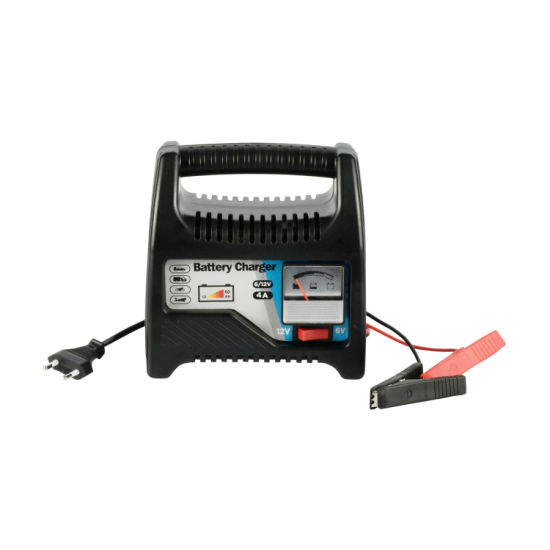 Ftpower C1204L 6V/12V 4A New Design Automatic Lead Acid Car Battery Charger with Ce and RoHS