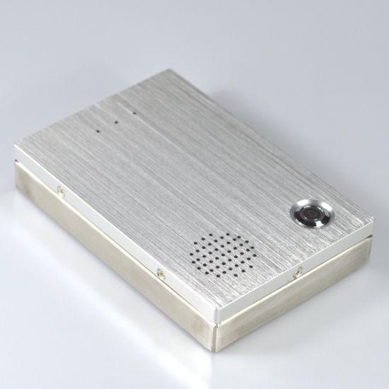 SIP Audio Door Phone Intercom Wired IP Doorbell for Door Access Control