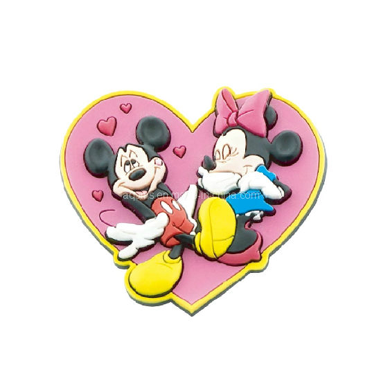 Heart Shape Soft PVC Pins pictures & photos